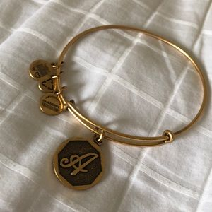 Alex and Ani - A initial bracelet